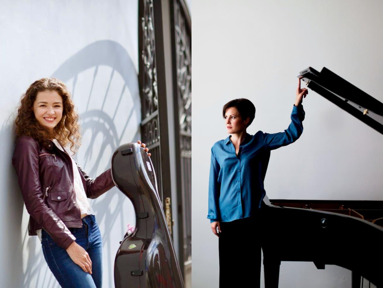 Anastasia Kobekina, cello & Hanna Shybayeva, piano