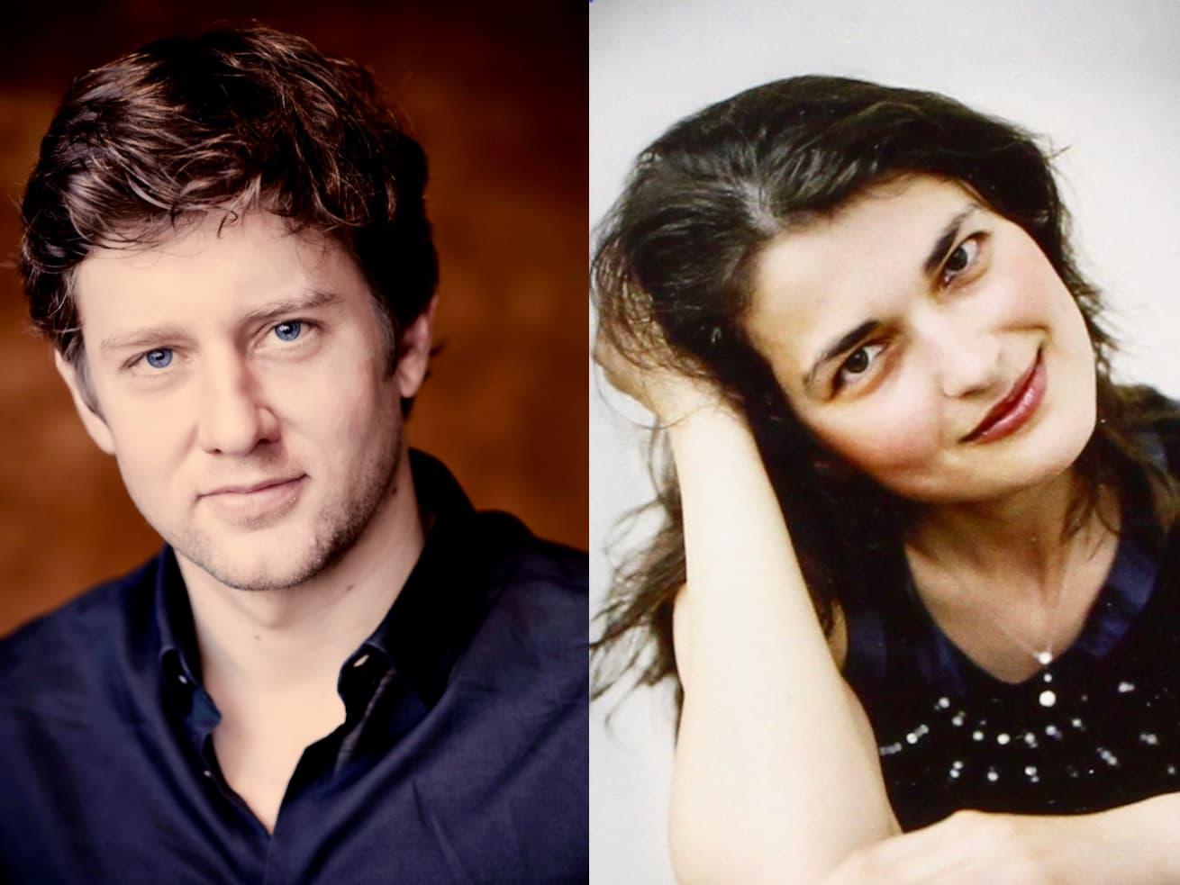 André Morsch, bariton en Mariana Izman, piano