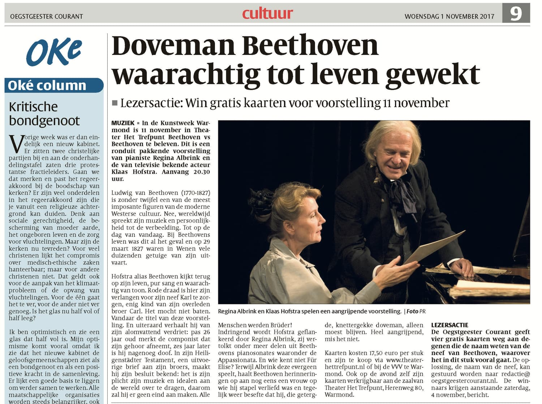 Beethoven Artikel 01-11-2017