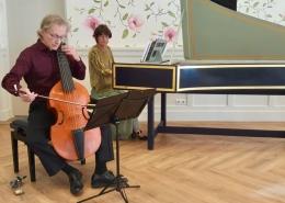 Frank Wakelkamp, viola da gamba en Ursula Dütschler, klavecimbel