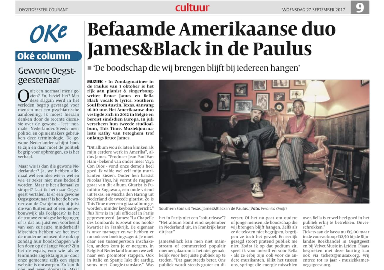 James&Black Artikel 27-9-2017