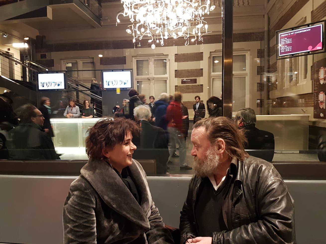 Sara Crombach en Bernd Brackman