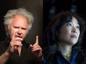 Jasper Schweppe en Riko Fukuda