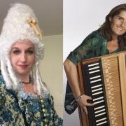 Wendy Roobol, sopraan en Ursula Dütschler, pianoforte