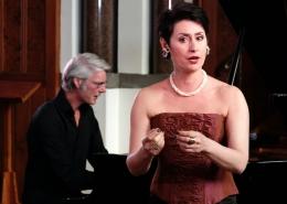 Ekaterina Levental, mezzosopraan & Frank Peters, piano 1
