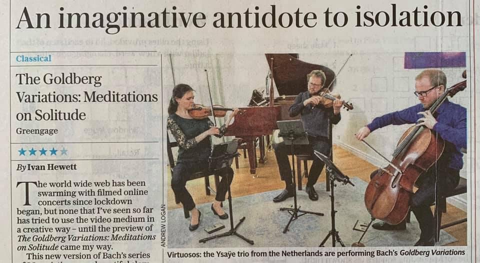 Ysaÿe Trio artikel