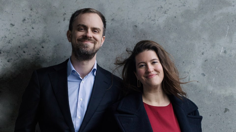 Sam Armstrong en Katharine Dain