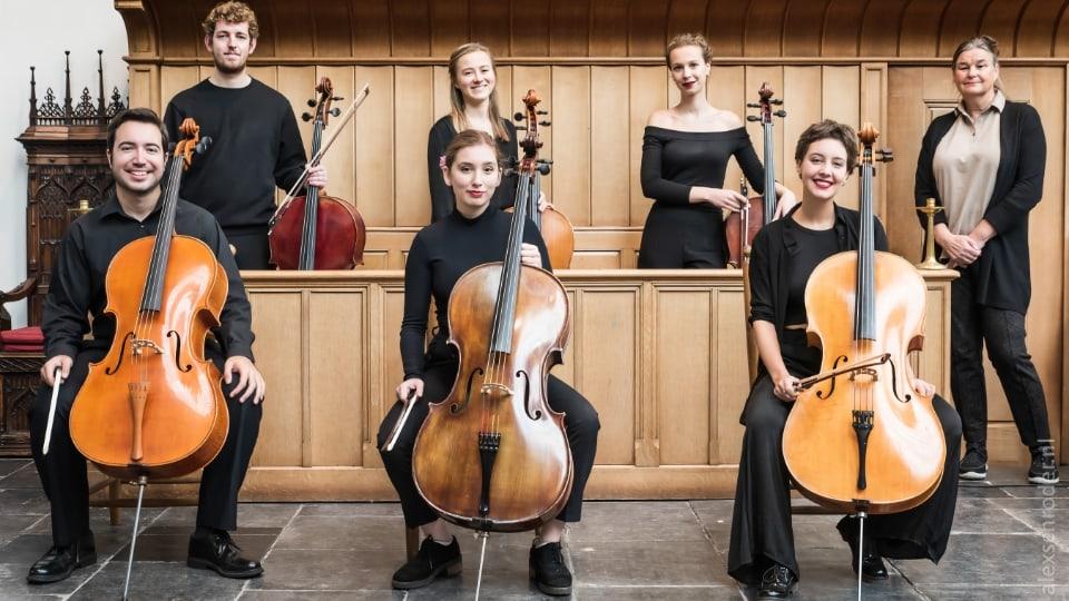 De celloklas van Lucia Swarts 2021