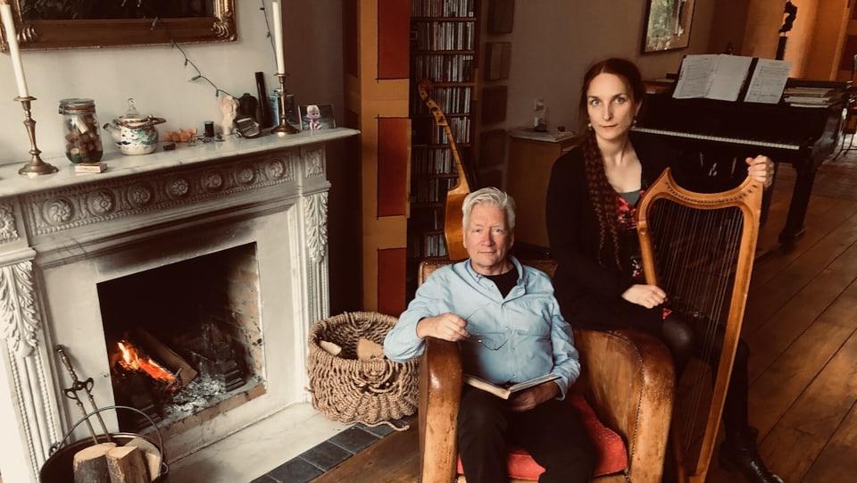 Nico van der Meel en Constance Allanic