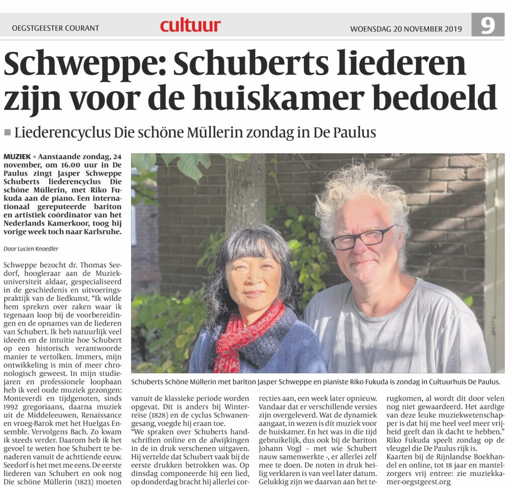 Oegstgeester Courant 20-11-2019